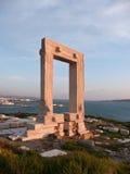 Portara gate, Naxos island, Greece Royalty Free Stock Photography