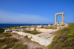 Portara Naxos Fotografia Stock