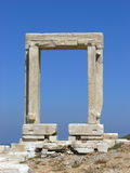 Portara Naxos Stock Photos