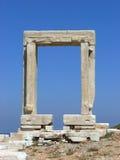 Portara Naxos Stock Foto's