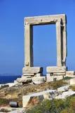 Portara of Naxos Royalty Free Stock Photo