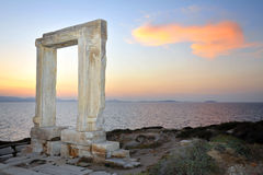 Portara of Naxos Royalty Free Stock Images