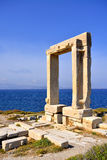 Portara, Naxos island, Greece Royalty Free Stock Photography