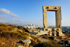 Portara, Naxos island, Greece Royalty Free Stock Images