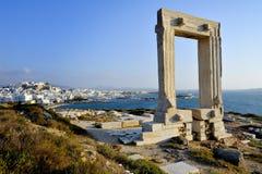 Portara of Naxos Royalty Free Stock Images