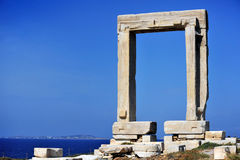 Portara of Naxos Stock Photos