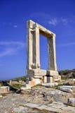 Portara of Naxos Stock Photos