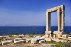 Portara of Naxos Royalty Free Stock Image