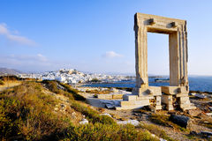 Portara of Naxos Royalty Free Stock Photo