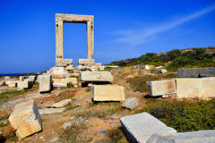 Portara of Naxos Royalty Free Stock Photography