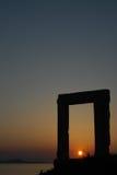 Portara w Naxos Zdjęcie Royalty Free