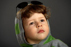 Portarait of a nice little boy Stock Photography