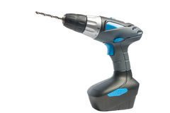 Portarble electric accumulator screwdriver Royalty Free Stock Photography