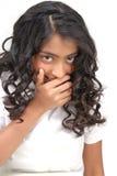 Portarit του ινδικού όμορφου κοριτσιού Στοκ εικόνες με δικαίωμα ελεύθερης χρήσης