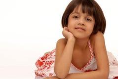 portarit девушки индийское маленькое Стоковая Фотография RF
