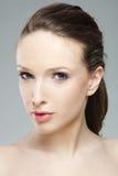 Portarit of a beautiful girl with perfect tan Stock Photos