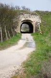 Portarna av fästningen Kerch Arkivfoto
