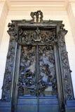 Portarna av helvete Royaltyfria Foton