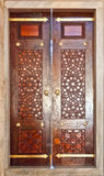 Portas 03 da mesquita Foto de Stock