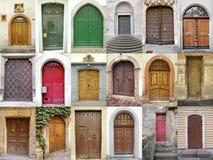 Portas Fotografia de Stock