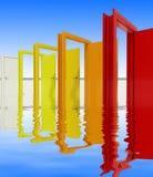 Portas Foto de Stock