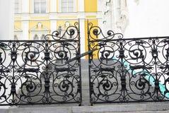 Portas bonitas da câmara Faceted Moscovo Kremlin Imagem de Stock Royalty Free