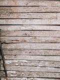 Portas brancas velhas Textura de madeira Imagens de Stock Royalty Free