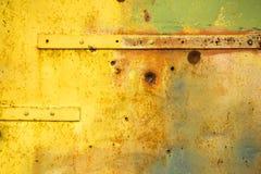 Portas coloridas do metal Imagem de Stock
