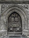 Portas da abadia Foto de Stock Royalty Free