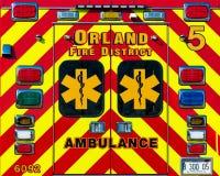 Portas da ambulância Foto de Stock Royalty Free