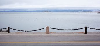 Portas da costa do Oceano Pacífico fotografia de stock