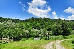 Portas da exploração agrícola Foto de Stock Royalty Free