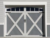 Portas da garagem Foto de Stock Royalty Free