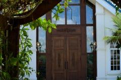 Portas da igreja Fotografia de Stock Royalty Free