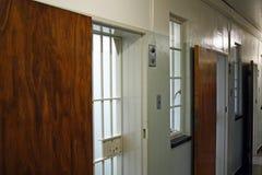 Portas da prisão Imagem de Stock Royalty Free