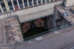 Portas da represa Fotos de Stock
