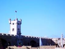 Portas da terra na capital de Cadiz andalusia spain fotos de stock royalty free
