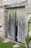 Portas de celeiro velhas Fotos de Stock