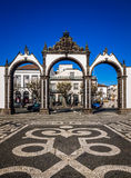 Portas de Cidade Fotografia Stock