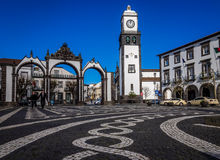 Portas de Cidade Royalty Free Stock Photo