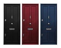 Portas de entrada fotografia de stock
