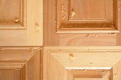 Portas de gabinete da cozinha Fotografia de Stock Royalty Free