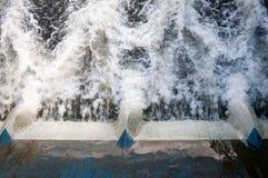 Portas de inundação Imagem de Stock