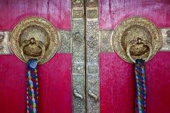 Portas de Ki monastry fotos de stock