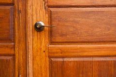 Portas de madeira. imagem de stock