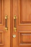 Portas de madeira Foto de Stock