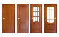 Portas de madeira Imagem de Stock