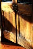Portas de madeira Fotos de Stock Royalty Free