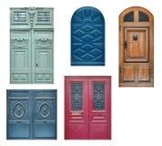 Portas de madeira velhas Imagem de Stock