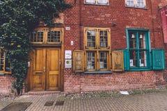Portas de Nauen e distrito holandês em Potsdam Fotos de Stock Royalty Free